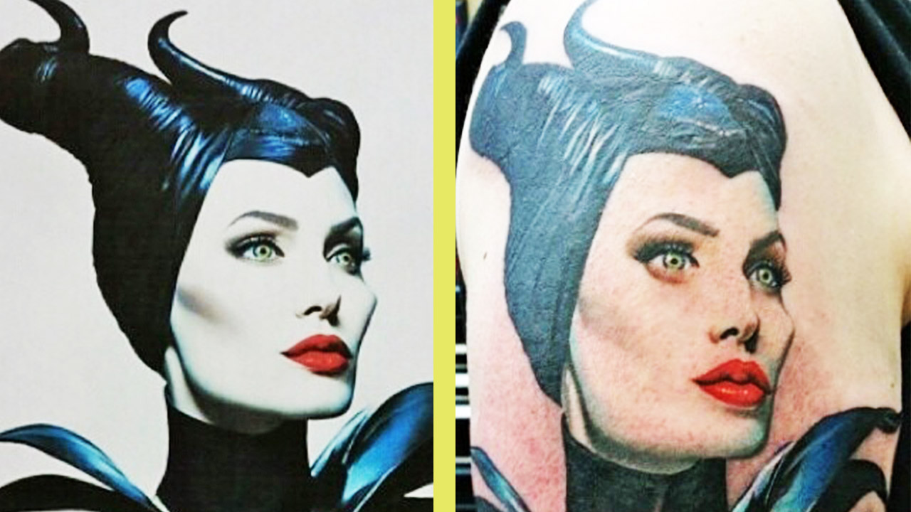 Amazing And Beautiful Tattoos Inspired Disney
