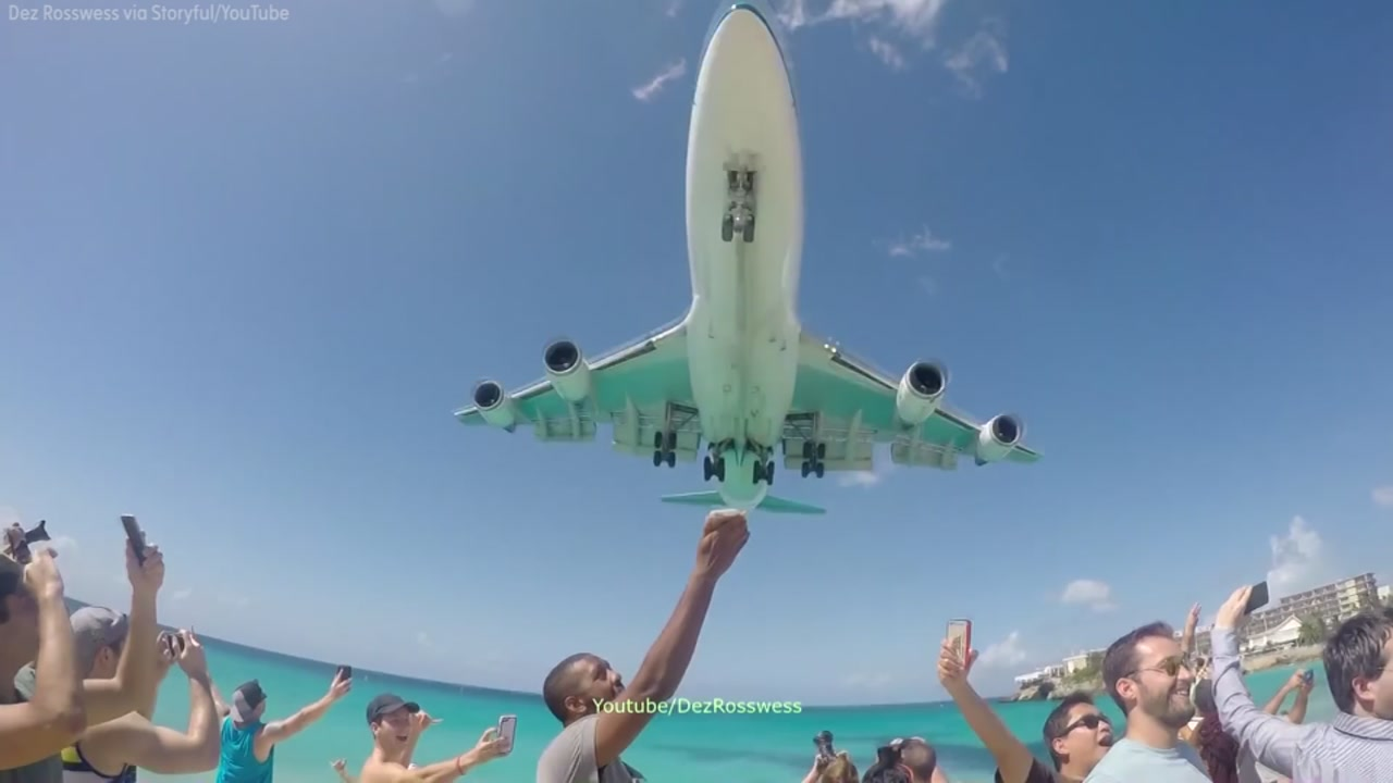 scariest landing at st