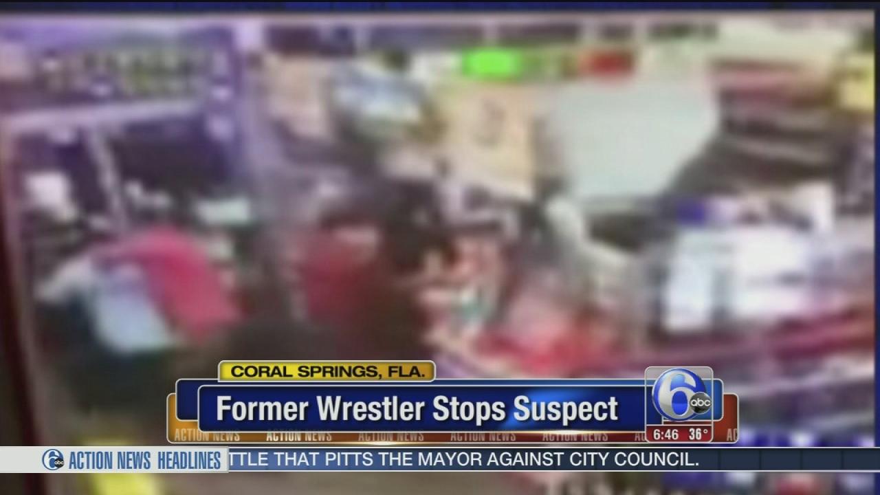 Former Wwe Wrestler Stops Armed Robber 6abc
