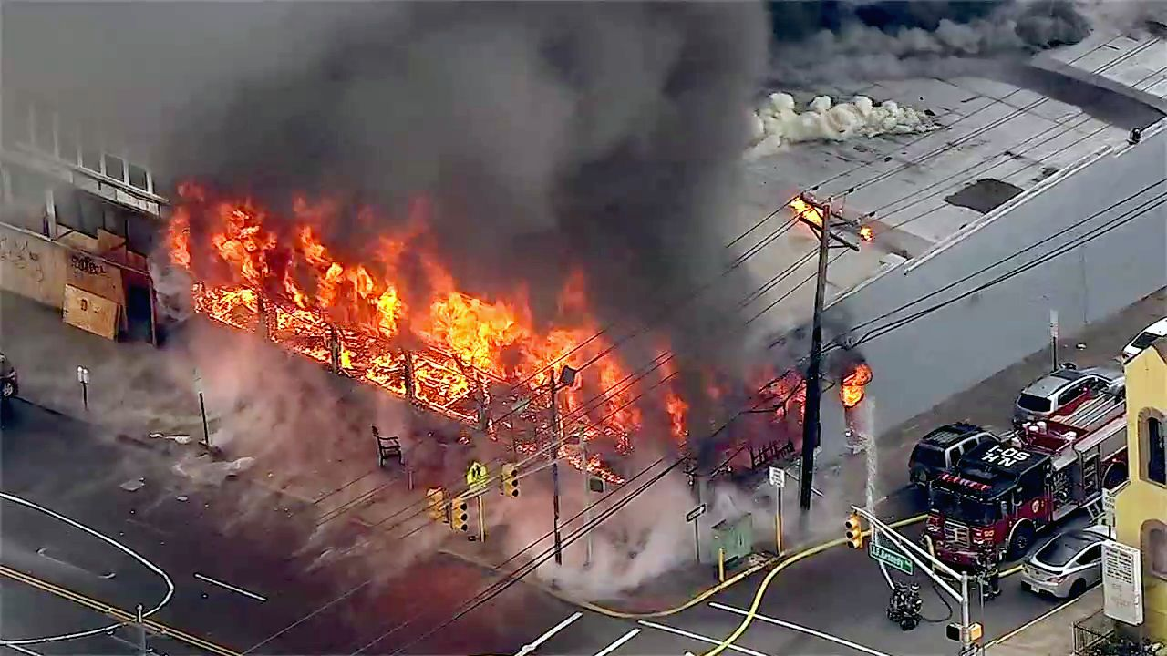Cause Of Fire At Furniture Store In North Bergen May Have