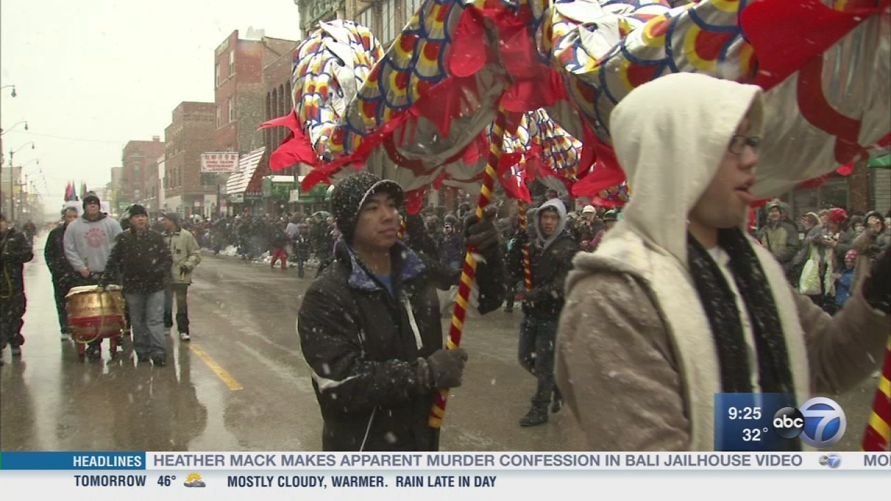 Chinatown celebrates the Lunar New Year with a parade - ABC7 Chicago