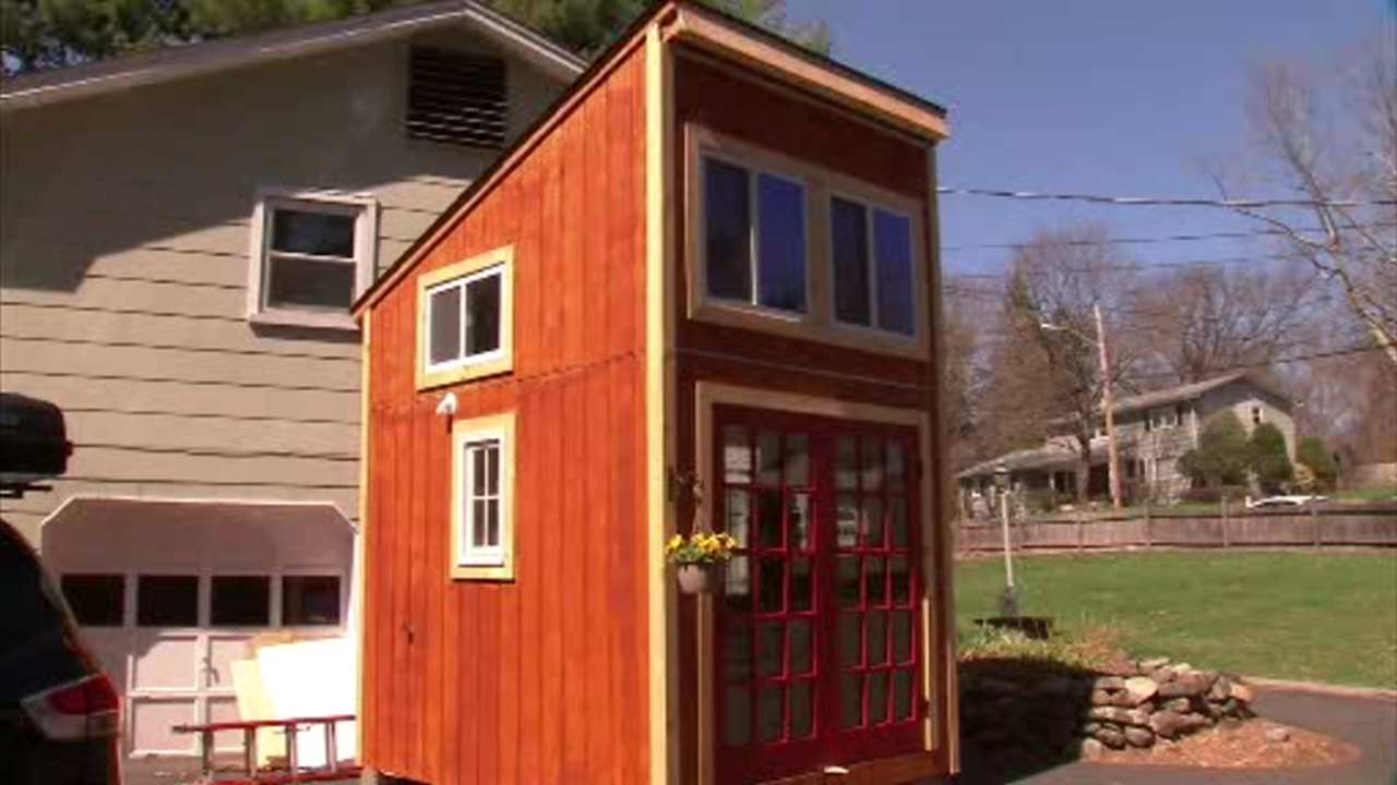 New York Teen Builds Tiny House In Chestnut Ridge 6abc