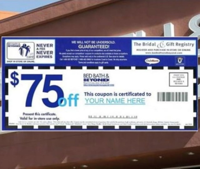Mothers Day Coupon At Bed Bath Beyond Is A Scam Abc Com