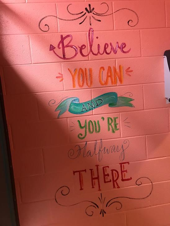 PHOTOS Cool school bathroom in Fayetteville  abc11com