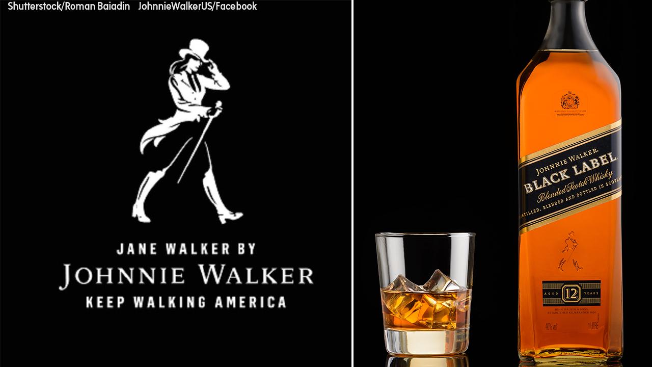 Johnnie Walker Adopts Female Logo In Honor Of Women'