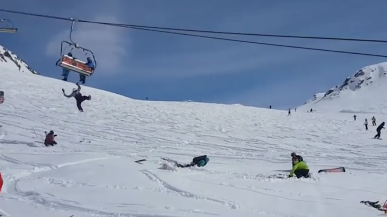 chair lift accident french cane back dining chairs georgia ski flings passengers off during horrifying malfunction video shows being flung from georgian