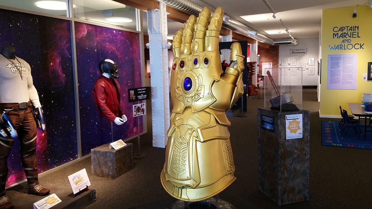 Video Avengers Movie Magic San Francisco' Cartoon Art