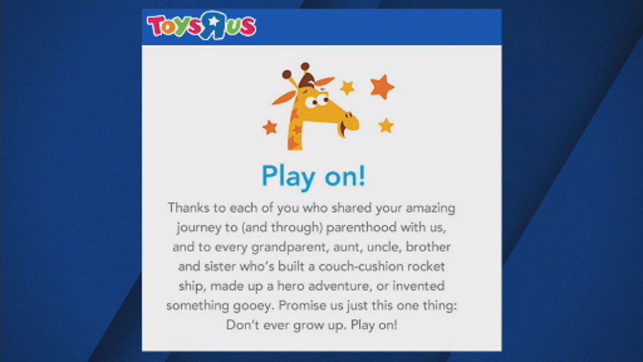 Play On Toys R Us Says Goodbye With Heartfelt Message