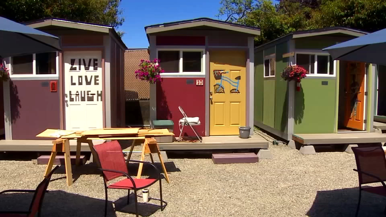 See Inside Seattle S New Tiny House Village For Homeless
