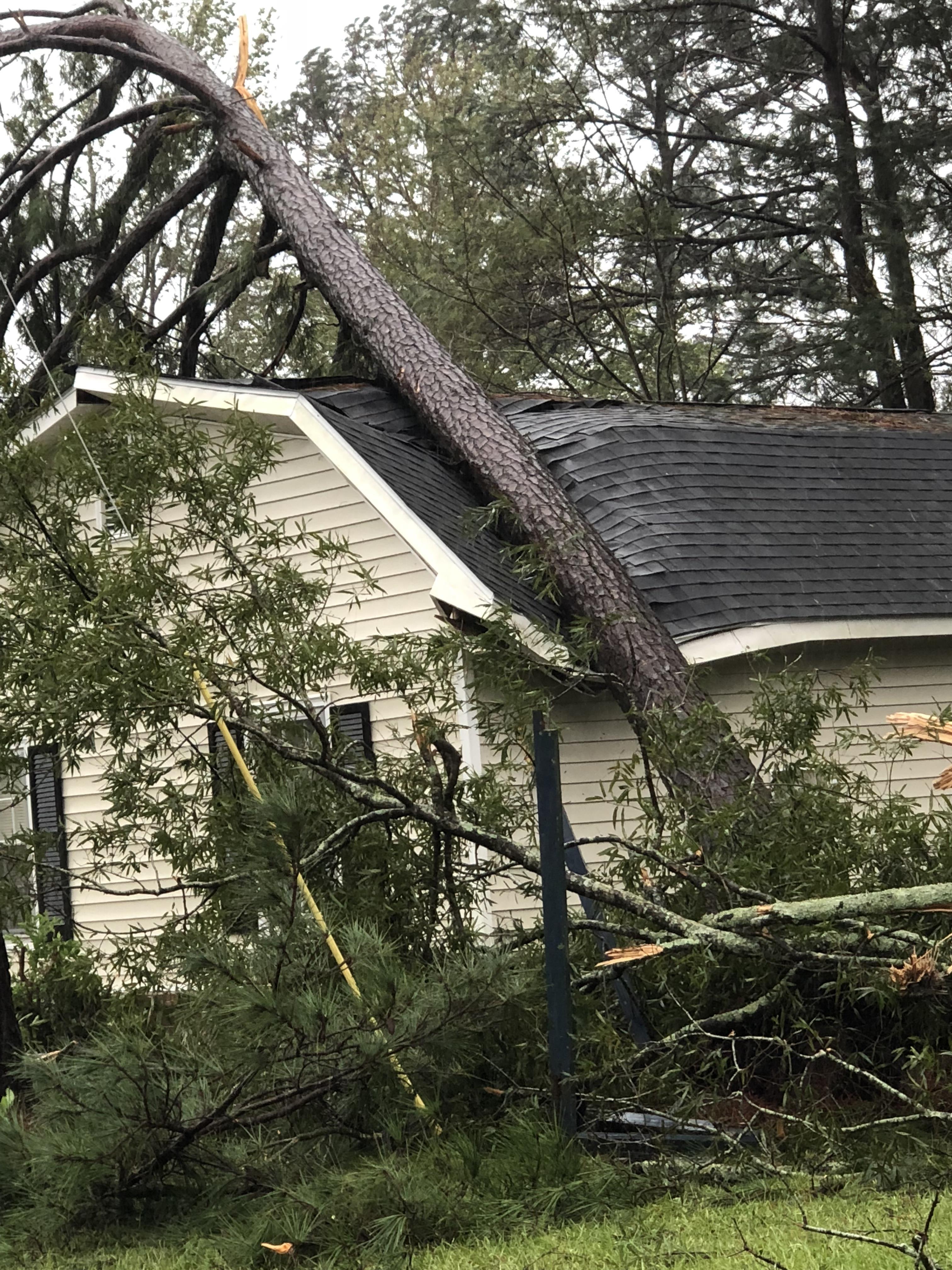 Hurricane Florence Damage In Wilmington North Carolina