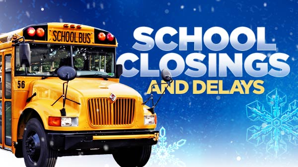 School Church Business Closings And Delays For Counties