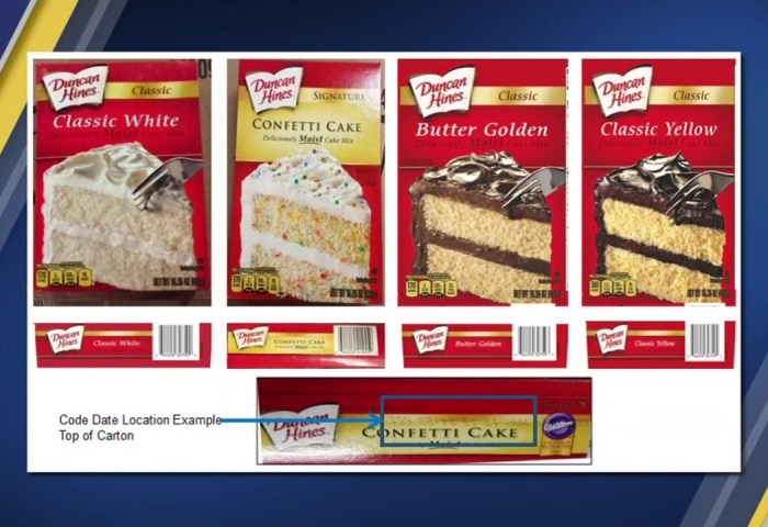 Duncan Hines Recalls Popular Cake Mixes Because Of Salmonella Fears
