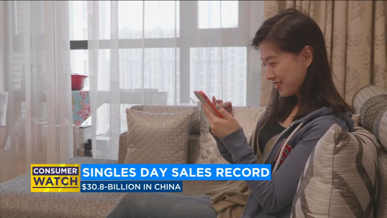 Singles Day Sets Sales Record In China Abc30