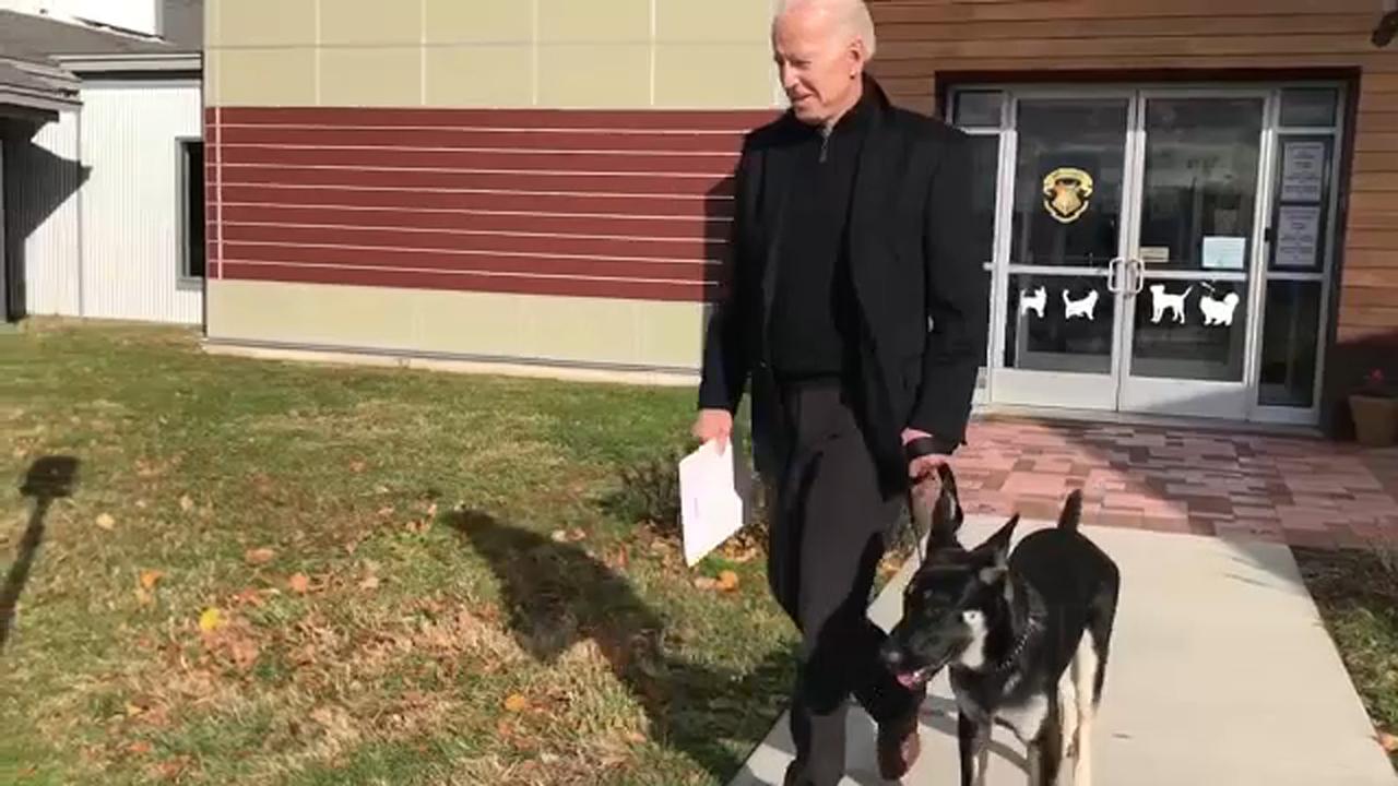 Former Vice President Joe Biden Adopts German Shepherd