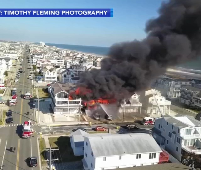 Sea Isle City Fire Woman 89 Found Dead After New Jersey Inferno 6abc Com
