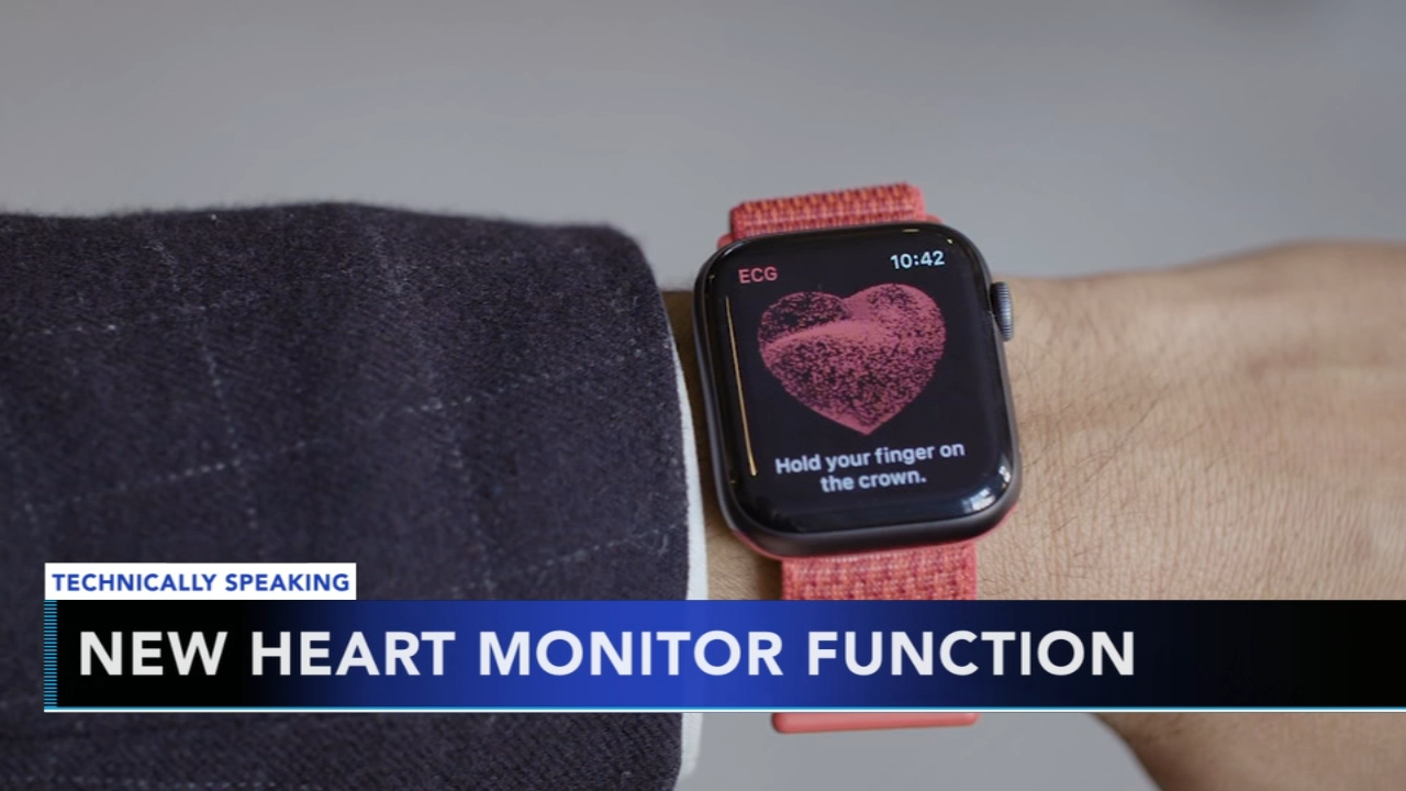 Apple Watch Releases Heart Monitor Function 6abc Com