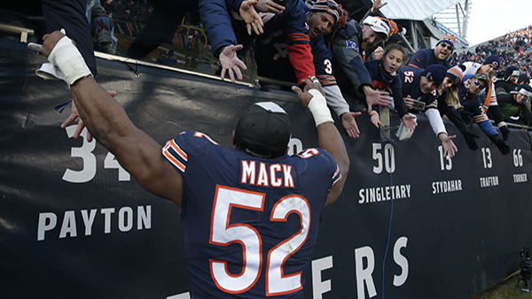 5 Chicago Bears Players Named To Afc Nfc Pro Bowl 2019