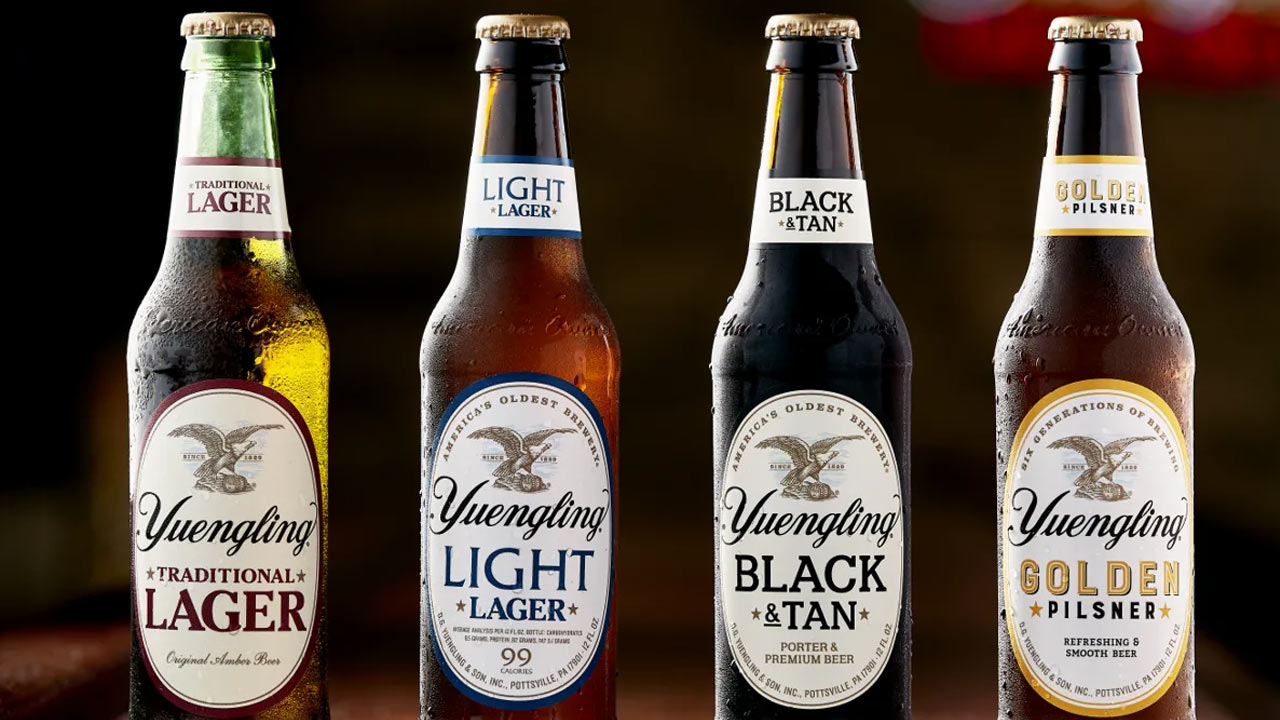 hight resolution of yuengling recognized as top craft brewery by sales volume