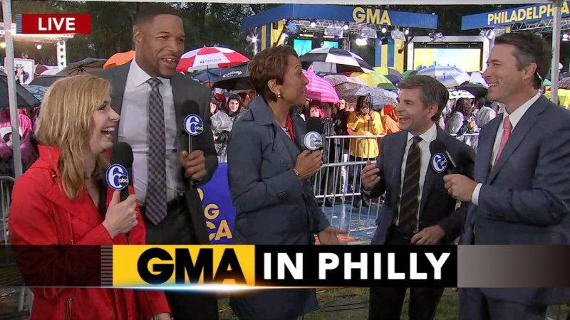 gma anchors speak with