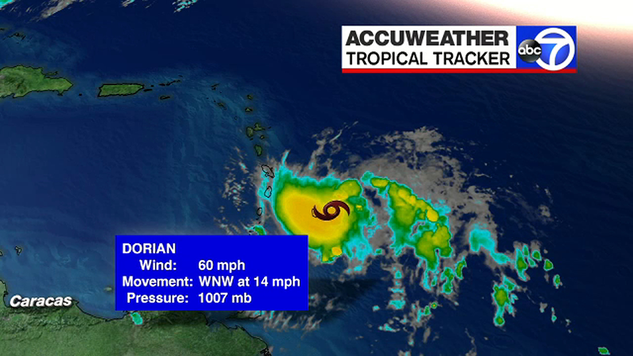 tropical storm dorian likely