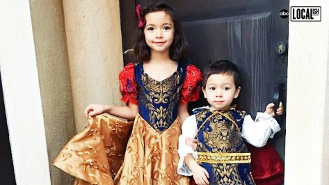 Dad Designs Magical Costumes For His Kids