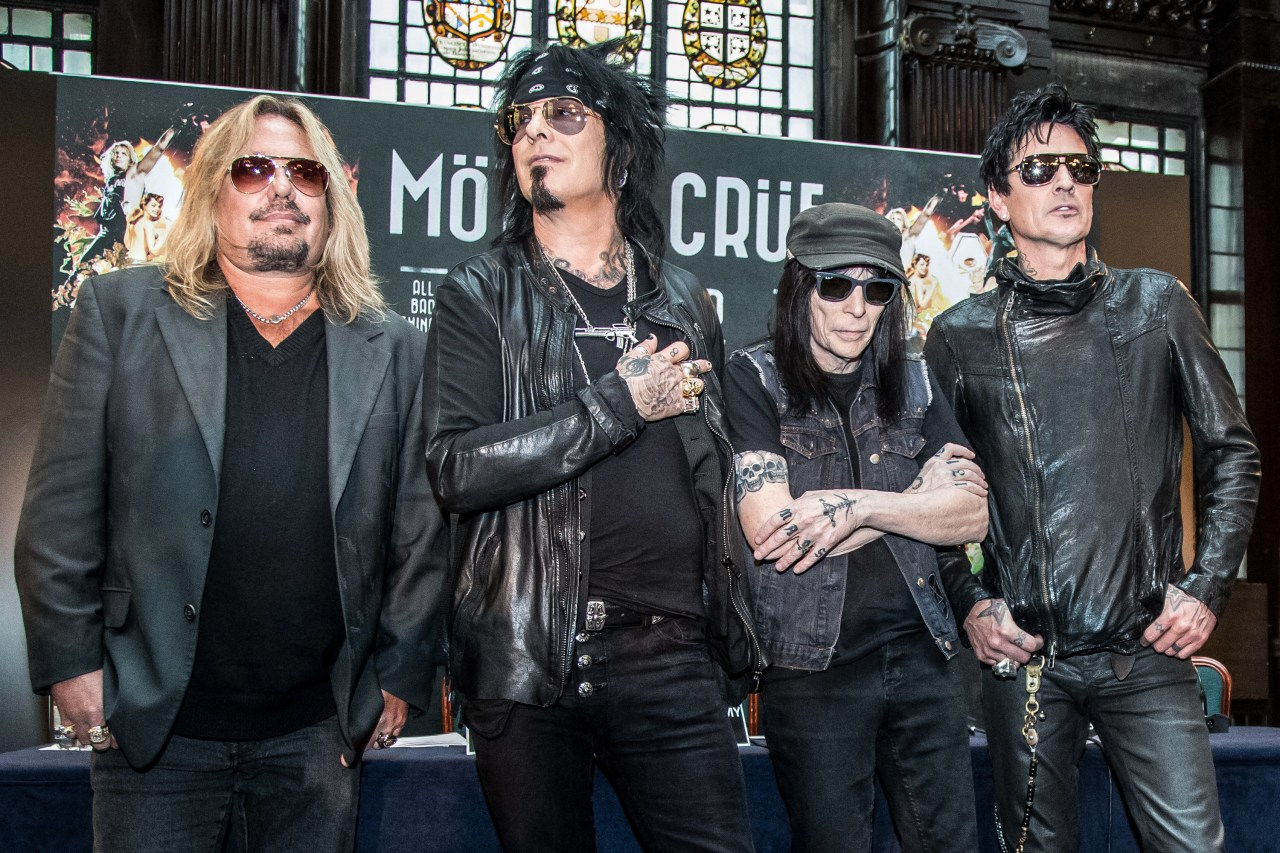 Mötley Crüe Confirms Band Will Reunite Tour In 2020