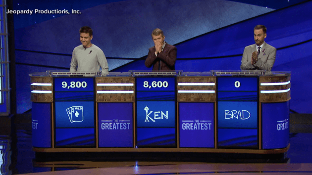 Jeopardy The Greatest Of All Time Ken Jennings Mimics