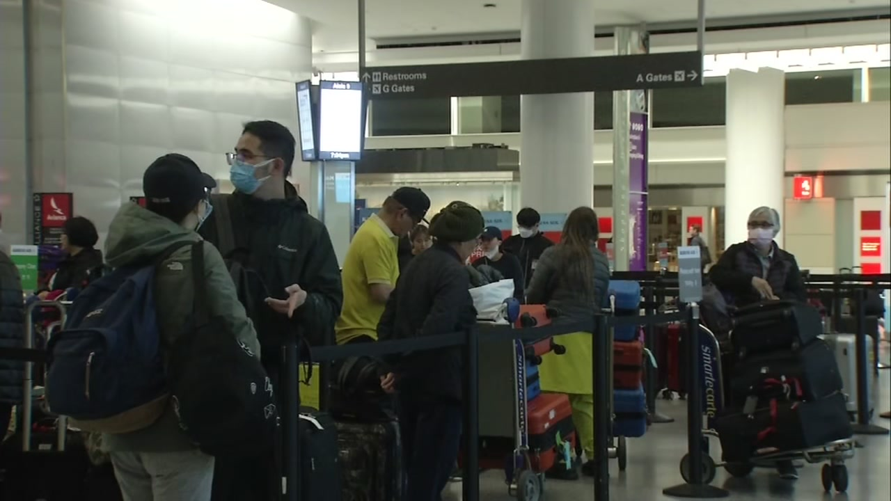 Coronavirus outbreak: New travel restrictions in place at San ...