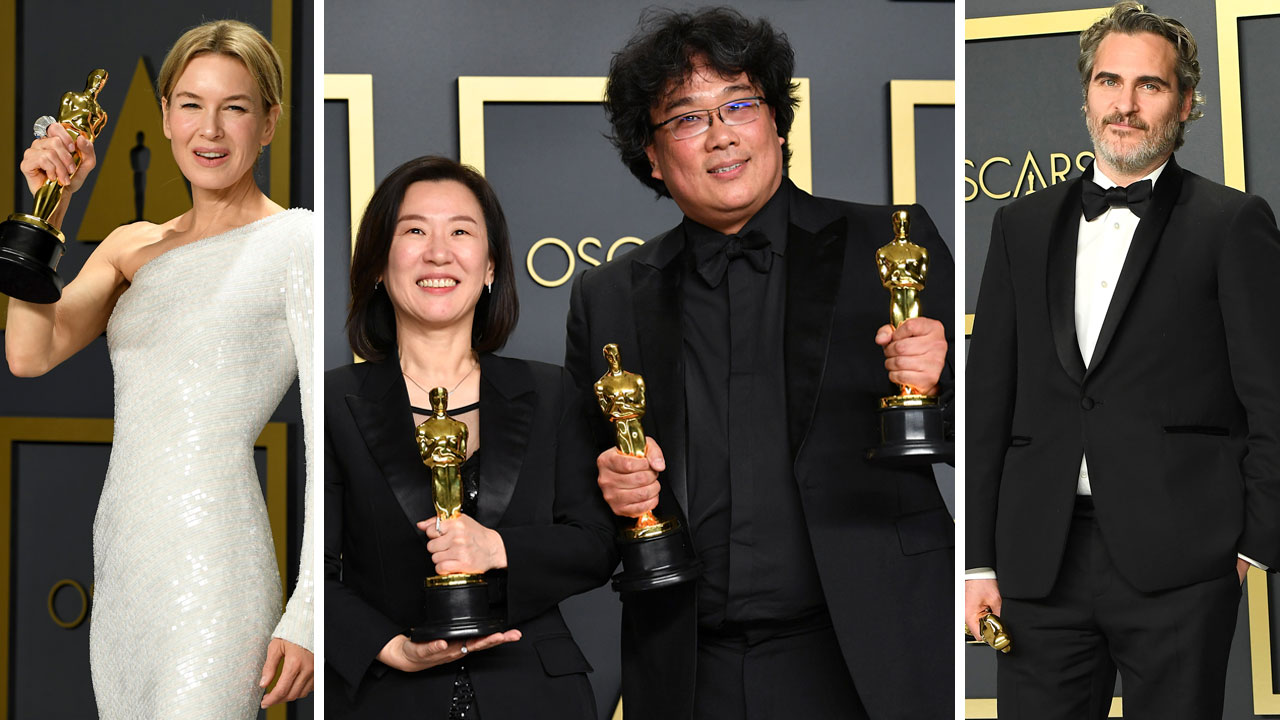 Oscars 2020 Winners List: See which movies. nominees went home with Academy Award gold - ABC7 New York