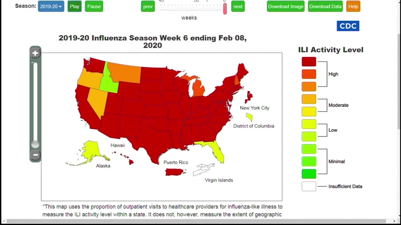 Flu activity peaking across Bay Area and US | abc7news.com