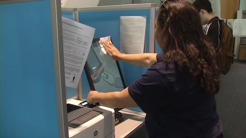 Coronavirus: Santa Clara County vote centers offer sanitizers ...