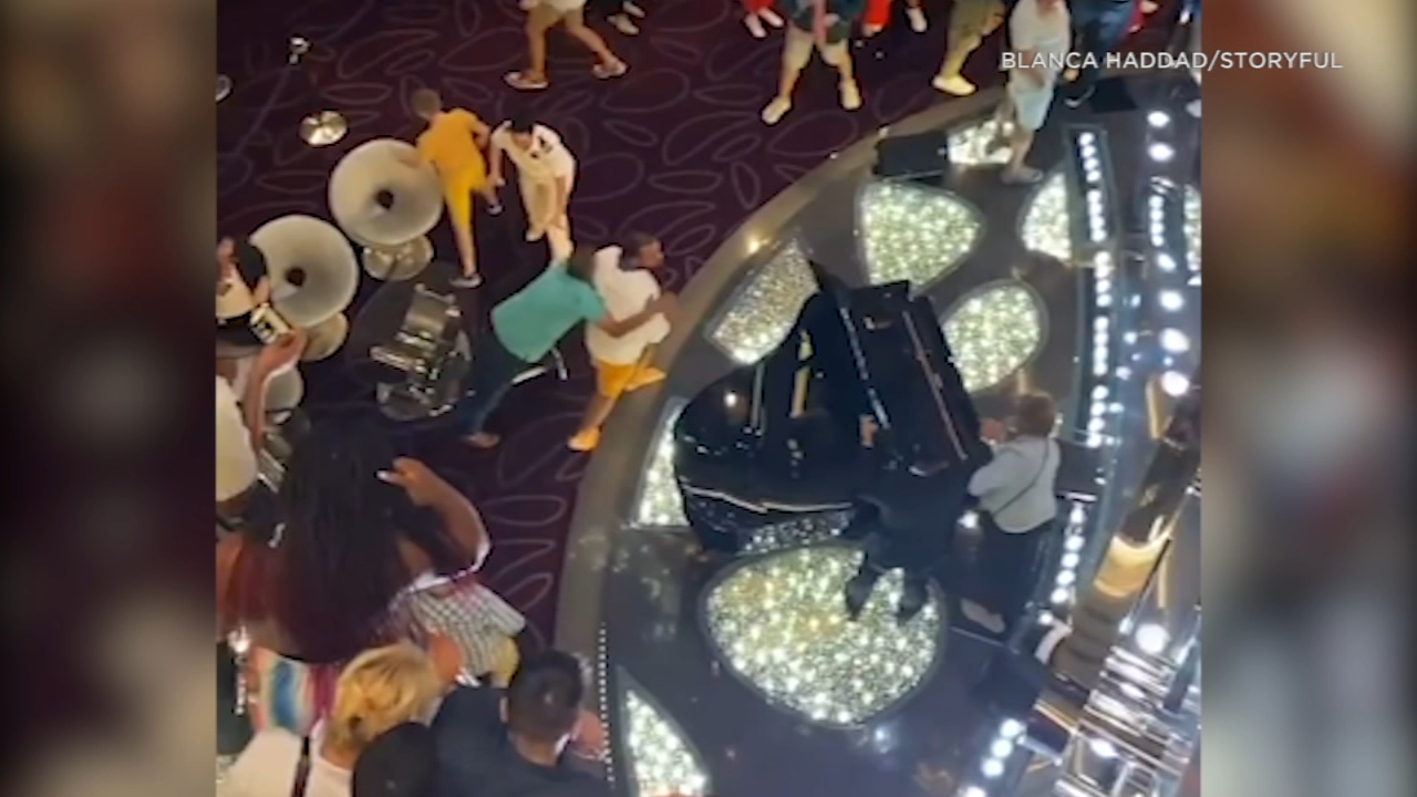 Video captures fight erupting on cruise ship after coronavirus ...