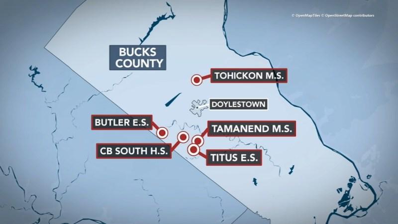Central Bucks School District testing comes back negative after ...
