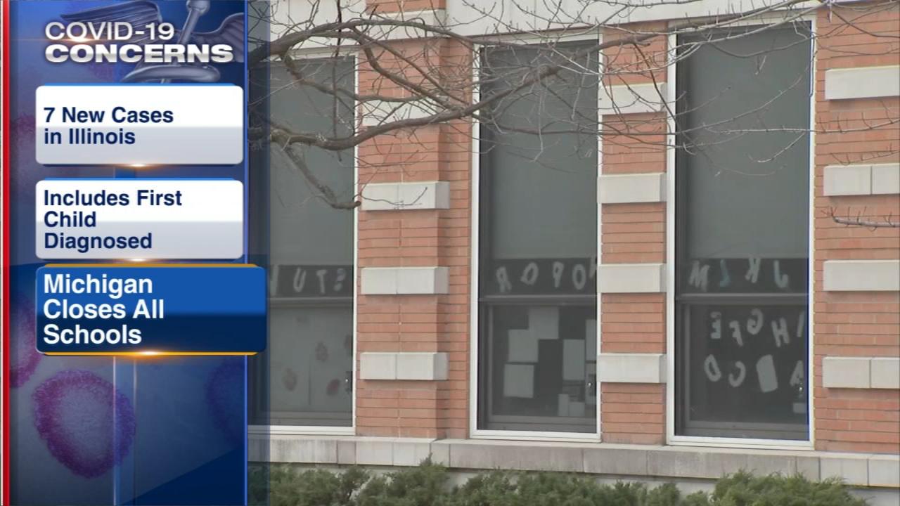 Coronavirus Michigan: Gov. Gretchen Whitmer to close all schools ...