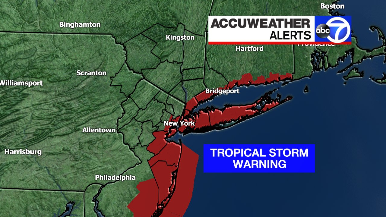 Nyc Weather Tropical Storm Fay Expected To Bring Flooding