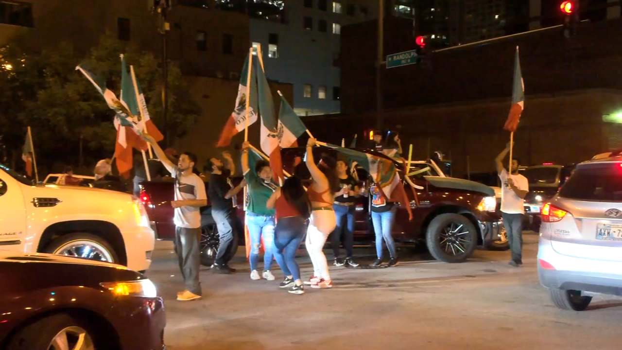 Mexican Independence Day Celebrations Causes Overnight