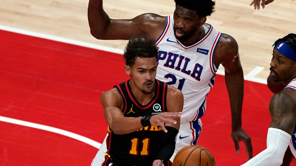 Trae Young's 26 points lead Atlanta Hawks past short-handed Philadelphia  76ers, 112-94 - 6abc Philadelphia