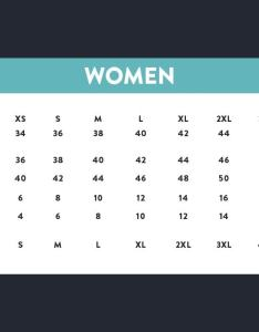 Asian size to us womens sizing chart also how convert for ecommerce businesses rh abetterlemonadestand