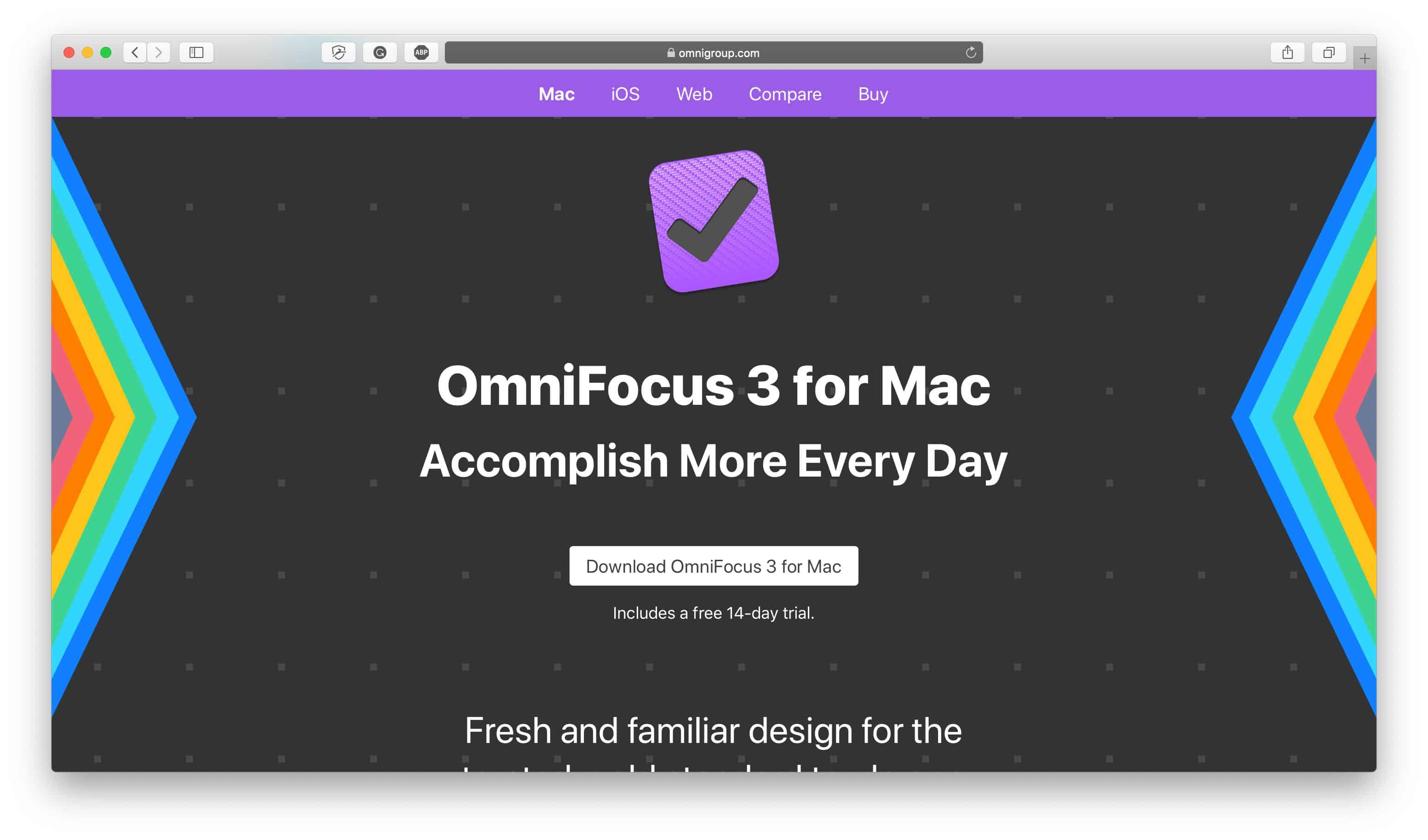 OmniFocus Productivity App