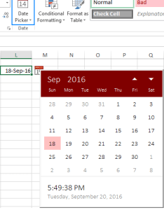Excel date picker also how to insert calendar in  printable rh ablebits