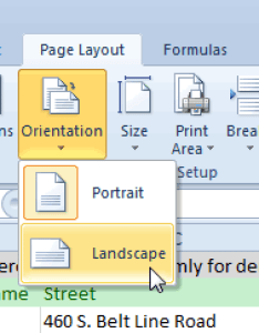 You can find the orientation button on page layout tab of ribbon also how to rotate excel chart or worksheet rh ablebits