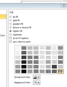 Black and white patterns for charts also tips  tricks better looking in excel rh ablebits