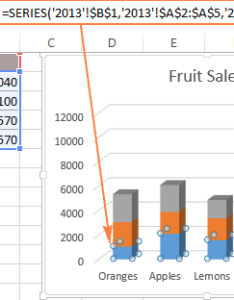 The data series formula also how to create  chart in excel from multiple sheets rh ablebits