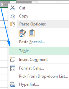Converting  table to range also excel how create use format and remove rh ablebits