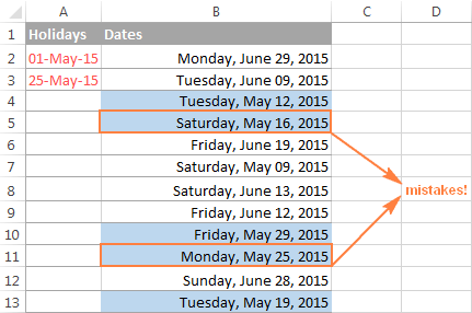 Excel WORKDAY and NETWORKDAYS functions to calculate working days