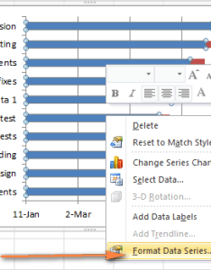 Transform the bar graph into excel gantt chart also how to make in step by guidance and templates rh ablebits
