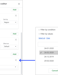 Filter data in pivot table google sheets also tutorial  how to create and examples rh ablebits