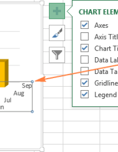 Adding  depth axis to  chart also excel charts add title customize legend and data labels rh ablebits