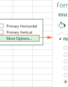 Format chart pane also how to make  graph in excel and save it as template rh ablebits