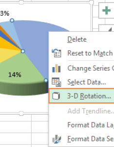 rotation options also how to make  pie chart in excel rh ablebits